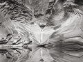 Photographs, JOHN SEXTON (American, b. 1953). Sculpted Sandstone and Pool, North Canyon, 1997. Gelatin silver, 1998. 9-5/8 x 12-3/4 i...