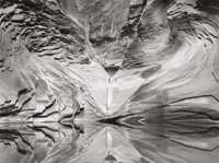 JOHN SEXTON (American, b. 1953) Sculpted Sandstone and Pool, North Canyon, 1997 Gelatin silver, 1998
