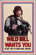 """Movie Posters:Comedy, 1941 (Universal, 1979). One Sheet (27"""" X 41"""") Wild Bill Advance.Comedy.. ..."""
