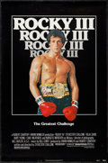 """Movie Posters:Sports, Rocky III (United Artists, 1982). One Sheets (2) (27"""" X 41"""") & Program (20 Pages, 9"""" X 12""""). Sports.. ... (Total: 3 Items)"""