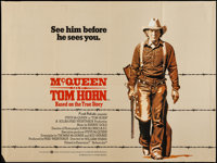 "Tom Horn (Warner Brothers, 1980). British Quad (30"" X 40""). Western"