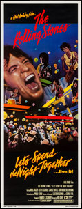 """Movie Posters:Rock and Roll, Let's Spend the Night Together (Embassy, 1983). Insert (14"""" X 36"""").Rock and Roll.. ..."""