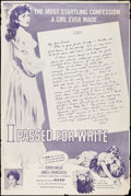 """Movie Posters:Exploitation, I Passed for White & Other Lot (Allied Artists, 1960). Posters (3) (40"""" X 60""""). Exploitation.. ... (Total: 3 Items)"""