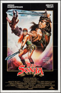 "Movie Posters:Action, Red Sonja and Other Lot (MGM, 1985). One Sheets (2) (27"" X 41"").Action.. ... (Total: 2 Items)"