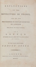 Books:World History, [French Revolution]. Edmund Burke. Reflections on the Revolutionin France, and on the Proceedings in Certain Societies ...