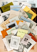 Books:Books about Books, [Bookseller Catalogs]. Group Lot of Bookseller Catalogs. Various dates. Shelfwear and some bent corners, else fine. ...