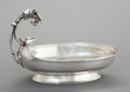 Silver Holloware, American:Bowls, A JOHN WENDT SILVER FIGURAL SALAD BOWL . John R. Wendt & Co.,New York, New York, circa 1865. Marks: BALL, BLACK & CO.,EN...