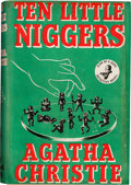 Books:Mystery & Detective Fiction, Agatha Christie. Ten Little Niggers. London: Crime Club,[1939]. First edition. ...