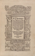 Books:Literature Pre-1900, [Giovanni Boccaccio]. The tragedies, gathered by Jhon Bochas, ofall such Princes as fell from theyr estates throughe th...