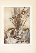 Books:Children's Books, [Arthur Rackham, illustrator]. J. M. Barrie. The Peter PanPortfolio. New York: Brentano's, 1914. First edition...