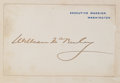 Books:Americana & American History, [William McKinley]. Message from the President of the UnitedStates to the Two Houses of Congress... Washington:... (Total:2 Items)