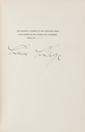Books:Americana & American History, Calvin Coolidge. The Autobiography of Calvin Coolidge. NewYork: Cosmopolitan Book Corporation, 1929. First edit...