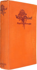 Books:Science Fiction & Fantasy, Edgar Rice Burroughs. The War Chief. Chicago: A. C. McClurg and Co., 1927. First edition. With a full-page ins...
