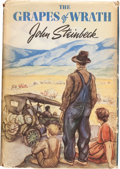 Books:Literature 1900-up, John Steinbeck. The Grapes of Wrath. New York: Viking Press,[1939]. First edition. ...