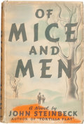 Books:Literature 1900-up, John Steinbeck. Of Mice and Men. New York: Covici Friede,[1937]. First edition, first issue. ...