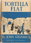 Books:Literature 1900-up, John Steinbeck. Tortilla Flat. New York: Covici Friede,1935. First edition. Octavo. vi, 317 pages. Illustrated by R...