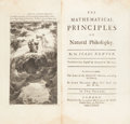 Books:Science & Technology, Sir Isaac Newton. The Mathematical Principles of Natural Philosophy. Translated into English by Andrew Motte. Lo... (Total: 2 )