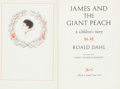Books:Children's Books, Roald Dahl. James and the Giant Peach. A Children'sStory. New York: Alfred A. Knopf, [1961]. First edition, fir...