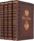 Books:Literature Pre-1900, Leo Tolstoy. War and Peace. New York: William S.Gottsberger, 1886, 1887. First edition in English.... (Total: 4Items)