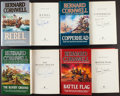 Books:Literature 1900-up, Bernard Cornwell. Four Signed First Editions in The StarbuckChronicles Series. From a private collection in North Carolin...(Total: 4 Items)