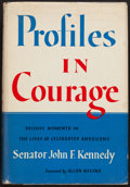 Books:Non-fiction, John F. Kennedy. Profiles in Courage. Harper & Brothers,1956. First edition. From a private collection in North C...