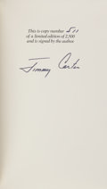 Books:Americana & American History, Jimmy Carter. Keeping Faith. Memoirs of a President.Toronto, et al.: Bantam Books, [1982]. First edition, num...