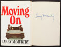 Books:Fiction, Larry McMurtry. Moving On. Simon and Schuster, 1970. Firstprinting. Signed. From a private collection in ...