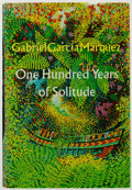 Books:Fiction, Gabriel García Márquez. One Hundred Years of Solitude.Harper & Row, 1970. First edition. From a privatecollectio...