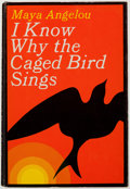 Books:Biography & Memoir, Maya Angelou. I Know Why the Caged Bird Sings. Random House,[1969]. First printing. Inscribed. From a pri...