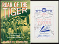 Books:Americana & American History, James H. Howard. Roar of the Tiger. Orion Books, 1991. Firstedition. Signed by eleven Flying Tigers. From...