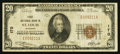 National Bank Notes:Missouri, Saint Louis, MO - $20 1929 Ty. 1 First NB Ch. # 170. ...