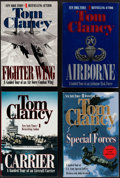 Books:Americana & American History, Tom Clancy. Four First Editions of Military Non-Fiction. Berkeley,[1995-2001]. All signed by the author. From a priva... (Total: 4Items)