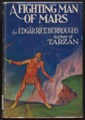 Books:Science Fiction & Fantasy, Edgar Rice Burroughs. A Fighting Man of Mars. Metropolitan,[1931]. First edition. From a private collection in No...