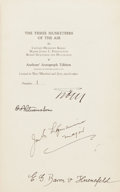 Books:Biography & Memoir, Hermann Koehl, James C. Fitzmaurice, Guenther von Huenefeld. TheThree Musketeers of the Air. Putnam's Sons, 1928. ...