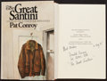 """Books:Literature 1900-up, Pat Conroy. The Great Santini. Houghton Mifflin, 1976. Firstedition. Signed by the author and """"The Great Santini...."""