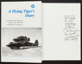 Books:Americana & American History, Charles R. Bond, Jr. and Terry H. Anderson. A Flying Tiger'sDiary. Signed by nine pilots from the Flying Tigers. ...