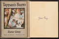 Books:Literature 1900-up, Zane Grey. Tappan's Burro. Harpers, [1923]. First edition.Signed. From a private collection in North Carolina...