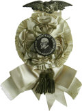 Political:Ribbons & Badges, 1910 United Veterans Committee Reunion Robert E. Lee Badge. This 1910 U.V.C. Reunion was held in Mobile, Alabama on April 26...