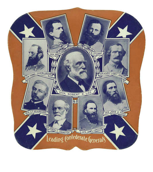 Robert E  Lee and Confederate Generals Fan  It is not hard