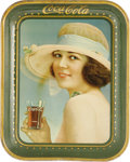 Advertising:Soda Items, 1921 The Summer Girl Coca-Cola Serving Tray is perhaps one of themost appealing serving trays made for the Coca-Cola Co. Co...