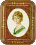 Advertising:Soda Items, Haskell Coffin Hires Girl Advertising Tray. Coffin became known for his illustrations picturing the American Beauty, Coffin ...
