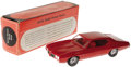 Transportation:Automotive, 1970 Pontiac GTO Promo Model. As a sales incentive, Pontiac gave out model cars upon which were tiny license plates that car...