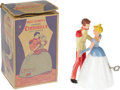 Entertainment Collectibles:Movie, Vintage Disney Cinderella Wind-up Toy with Box. Based on WaltDisney's beloved 1950 feature-length animated movie,Cindere...
