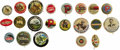 Advertising:Pocket Mirrors & Pinbacks, Gun Powder and Arms Manufacturers' Advertising Buttons: A FineCollection of 21 Different. This lot contains pinbacks that a...(Total: 21 items)