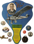 Transportation:Aviation, Outstanding Charles Lindbergh Collection of Twelve Items. Anexceptional grouping, including some quite unusual items. All a...(Total: 12 )