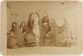 Photography:Cabinet Photos, The Seven Sutherland Sisters Group Photo and Mary SutherlandCabinet Card. The Sutherland sisters were a group of traveling ...(Total: 2 items)