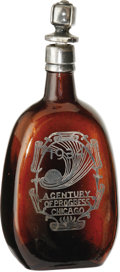 General Historic Events:Expos, 1934 Chicago Century of Progress Bottle. With Prohibition havingrecently been repealed, souvenir vendors were again able to...