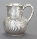 Silver Holloware, American:Pitchers, A TIFFANY & CO. SILVER WATER PITCHER. Tiffany & Co., NewYork, New York, circa 1870-1875. Marks: TIFFANY & CO.,STERLING S...