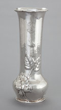 Silver Holloware, American:Vases, A GORHAM SILVER VASE . Gorham Manufacturing Co., Providence, RhodeIsland, circa 1907. Marks: (lion-anchor-G), STERLING, M...