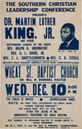 Miscellaneous:Broadside, [Southern Christian Leadership Conference]. Broadside: MartinLuther King Jr. Mass Meeting, December 10, [1958]....